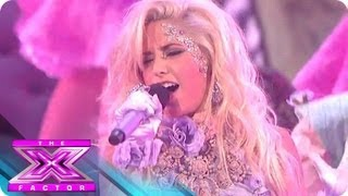 """CeCe Frey Gets Her """"Lady Marmalade"""" On - THE X FACTOR USA 2012"""