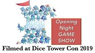 Opening Night Gameshow - Dice Tower Con 2019