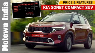 Kia Sonet compact SUV | Price & Driving Impressions| Motown India