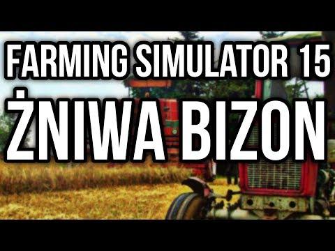 ☆ ŻNIWA 2016 ☆ BIZON Z056 ☆ FARMING SIMULATOR 15 ☆