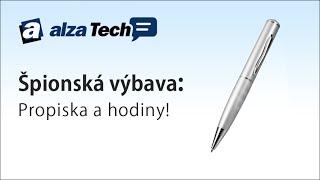 Špiónské vybavení od Technaxx! - AlzaTech #86