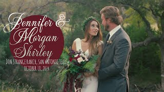 Jennifer And Morgans Bohemian Wedding From The Don Strange Ranch In San Antonio, Texas