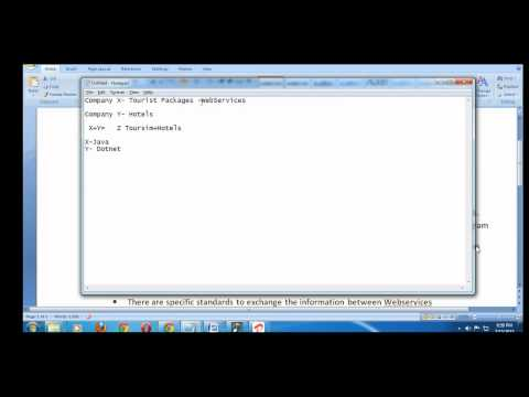 SOAP UI Webservices Online Training(WebServices Introduction)- Video-1