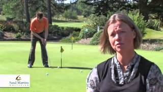preview picture of video 'Golf Berkshire - Sand Martins Golf Club.'