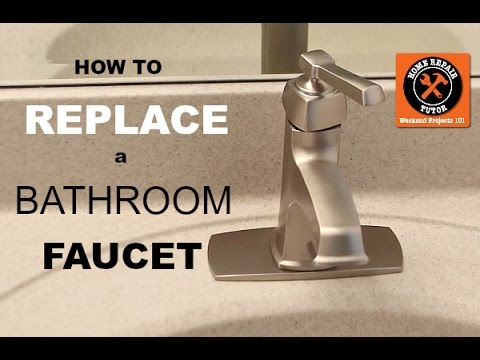 Video Tutorial: How to Replace an Old Bathroom Faucet
