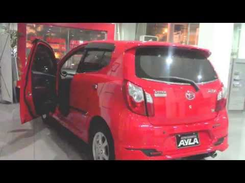 DAIHATSU AYLA FACELIFT 2014 RED SOLID