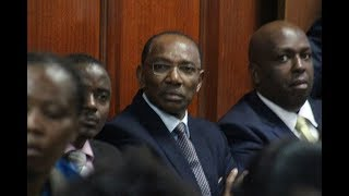 City billionaire businessman Humphrey Kariuki has been charged with