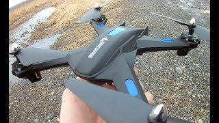 SNAPTAIN S5C FPV Very Durable RC Camera Drone FULL TESTING Flight