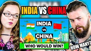 Irish couple reacts to India vs China – Who Would Win? Army/Military Comparison