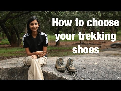 How to choose the right trekking shoes