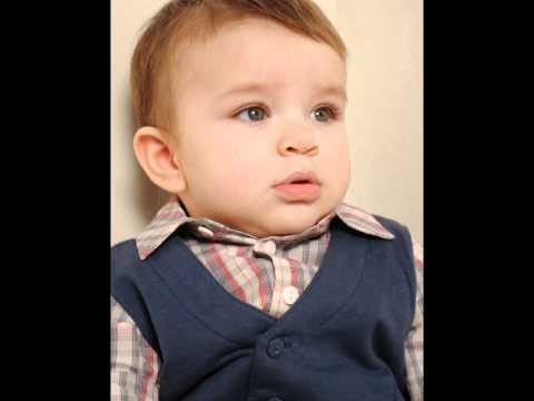 MODELING BEAUTIFUL BABY BOY