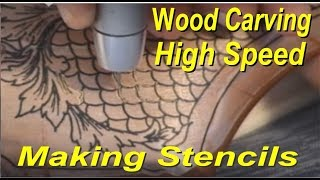 Gun Stock Engraving Equipment Wood Metal Glass Fishscale Grip Power Carver Wood Carving