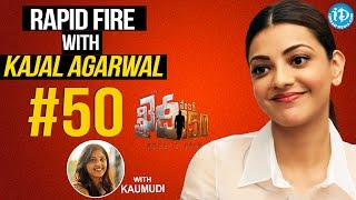 #50 With Kaumudi - Few Things About Kajal Aggarwal || #Khaidino150 || Talking Movies With iDream