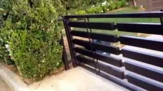 Mulholland Security's Gates Los Angeles Pacific Palisades Gate Installation.