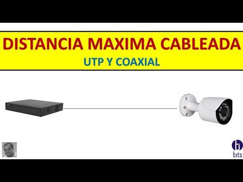 Distancia Máxima Cableada (UTP Y COAXIAL)