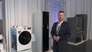 Intelligente KI-Waschmaschine Vivace und weitere Haushaltsgeräte - LG-Roadshow 2019, Interview