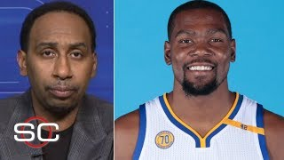 Stephen A. Smith's Reaction To Kevin Durant's Move To Warriors | SportsCenter | ESPN Archives