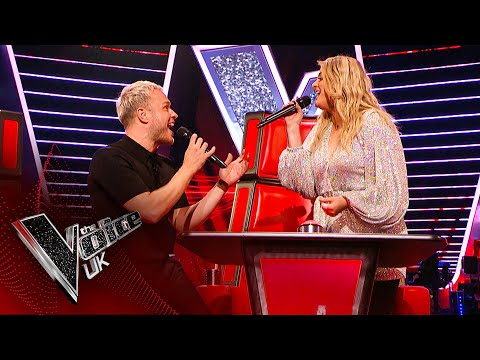Meghan Trainor and Olly Murs' Surprise Duet! | Blind Auditions | The Voice UK 2020