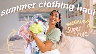 A *super Cute* Summer Clothing Haul ☼ 2020 Try-on