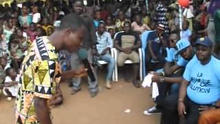 preview picture of video 'Benin  : Les Etudiants d'Allada en Fête avec Lionel Chobli (Dédicace)'