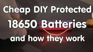 #160 40 Cent Do It Yourself Li Ion Protectors For 18650 Cells (Tutorial) And How They Work