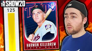 125 POWER HARMON KILLEBREW!! MLB THE SHOW 20 DIAMOND DYNASTY