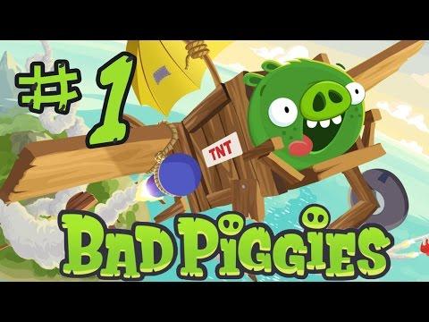 Bad Piggies - Прохождение - Серия 1 - Весело и глупо!