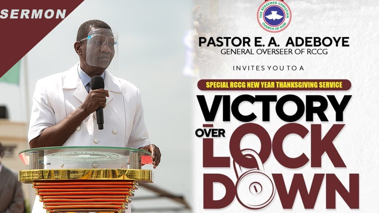 RCCG Sunday Live Service 6th September 2020