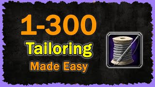 1 300 Tailoring Made Easy | Mobile Wow Classic Guide