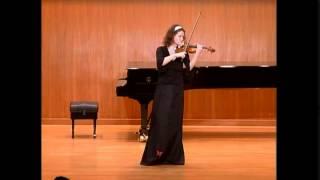 "Viktoria Kaunzner plays Violeta Dinescu´s ""À chaque épée de lumière"" (1991)"