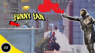 Playing With Extremely Hyped & Funny Fan😂 | PUBG Mobile | Funny Moments!