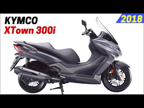 NEW 2018 Kymco XTown 300i Scooter – More Aggressive With $400 Higher Than the Honda PCX150
