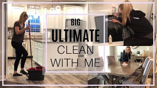 BIG ULTIMATE CLEAN WITH ME | Cleaning Motivation | Whole House Cleaning | Deep Cleaning