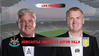 Newcastle United vs Aston Villa | The live preview show