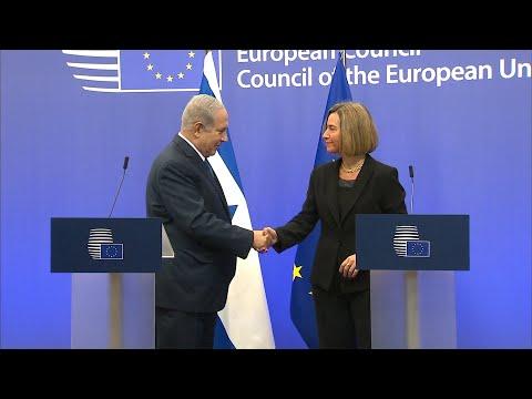 Netanyahu se reúne con UE tras reconocimiento de Jerusalén
