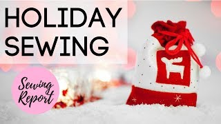 LIVE 🔴 DIY Christmas Gift Ideas 🎁 Sewing Handmade Gifts For The Holidays 🎄   SEWING REPORT