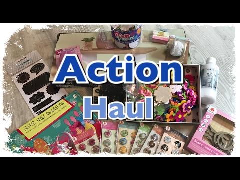 XL Action Haul (deutsch) neue Brads, Sticker, Ostern uvm. (Berlin) DIY