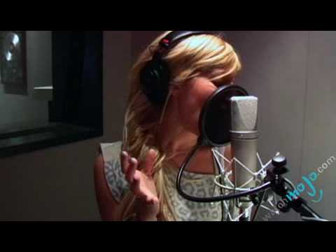 Ashley Tisdale – In the Studio part 1