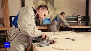 Уникальная технология производства авторской мебели из фанеры   #ВажнаяОбстановка