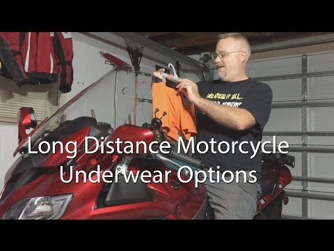 Motorcycle Underwear Options For Long Distance Or Hot Climates