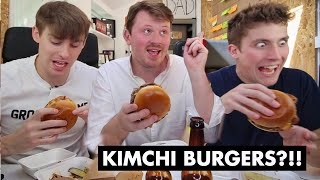 "BRITISH ""KIMCHEESE"" BURGER?!"