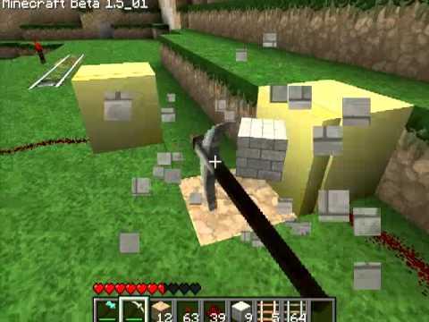 Различные механизмы в Minecraft - 19 серия