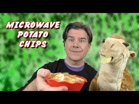 Microwave Potato Chips:  3 Ingredient Recipes