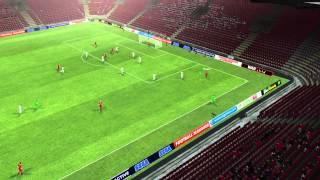 CFR Cluj Vs Sparta De Praga - Golo De Diogo Valente 64 Minutos