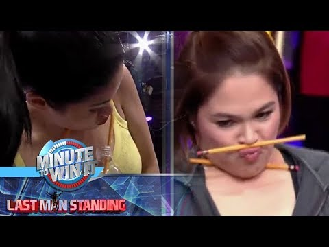 Lapis Laugh Face | Minute To Win It - Last Man Standing