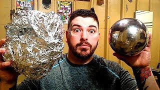 Polishing Aluminum Foil Balls –The Japanese Foil Ball Challenge - Video Youtube