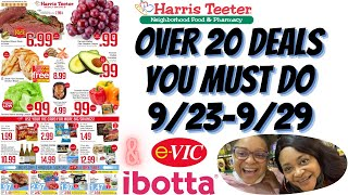 Harris Teeter Deals 9/23-9/29 Over 20 Deals You Can Do This Week #Couponing