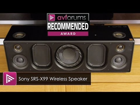 Sony SRS-X99 Wireless Speaker Review