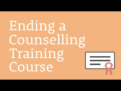 Teaching Counselling Online: Ending a Counselling Training Course