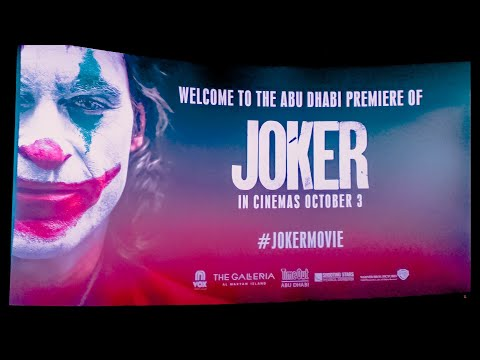 JOKER MOVIE FOR FREE #AtTheGalleria || VOX Cinemas Abu Dhabi